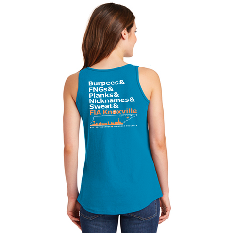 FiA Knoxville Word: Port & Company Cotton Tank Top Pre-Order