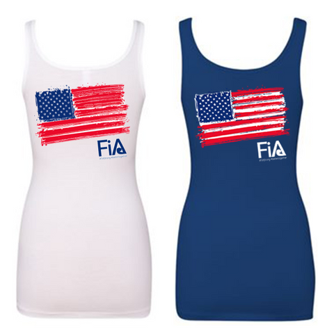 FiA Patriotic Next Level Women's Spandex Jersey Tank Pre-Order