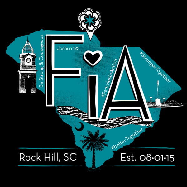 FiA Rock Hill Sport-Tek Ladies Long Sleeve Competitor V-Neck Tee Pre-Order