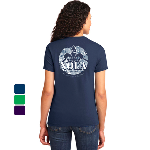 FiA NOLA Port & Company Ladies Essential Tee Pre-Order