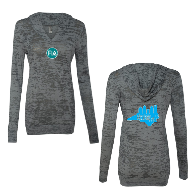 FiA Metro Next Level Women's Burnout Hoody Pre-Order