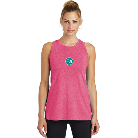 FiA Sport-Tek Ladies PosiCharge Tri-Blend Wicking Tank - Made to Order