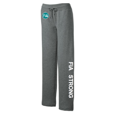FiA Strong Sport-Tek Ladies Fleece Pants Pre-Order