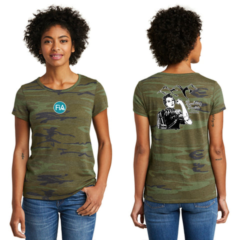 FiA Tennessee Rucking Rosies Alternative Eco-Jersey Ideal Tee Pre-Order