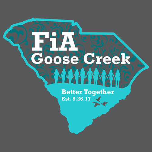 FiA Goose Creek Sport-Tek Ladies Sport-Wick Stretch 1/2-Zip Pullover Pre-Order