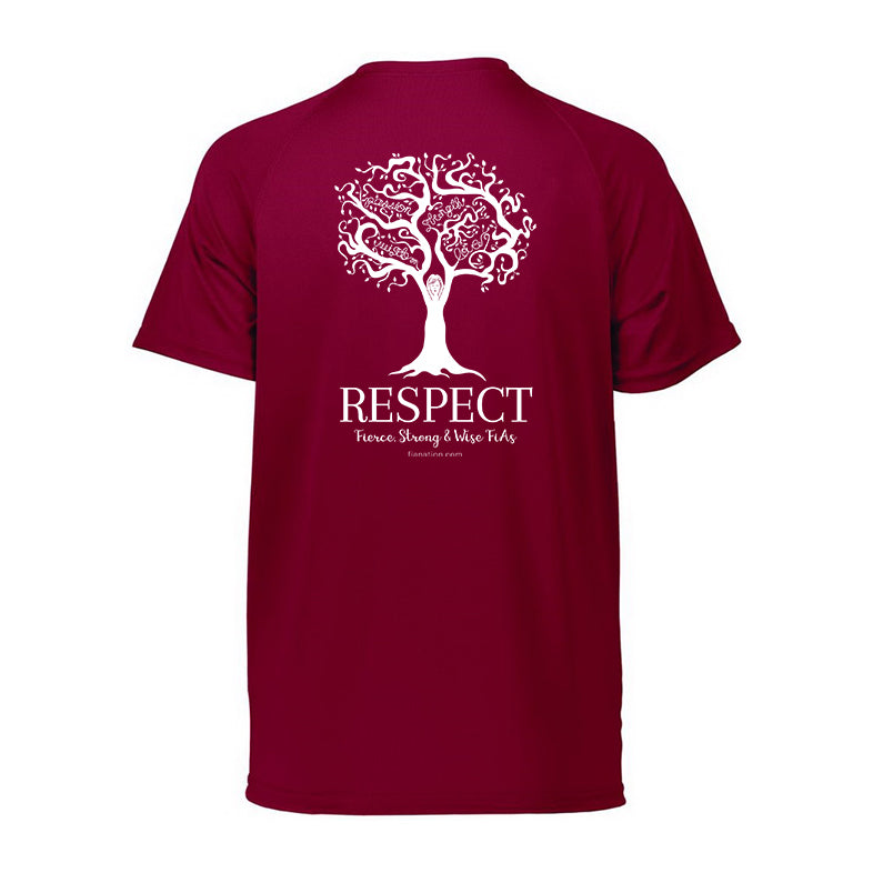 FiA Respect Augusta Ladies Attain Wicking Shirt Pre-Order