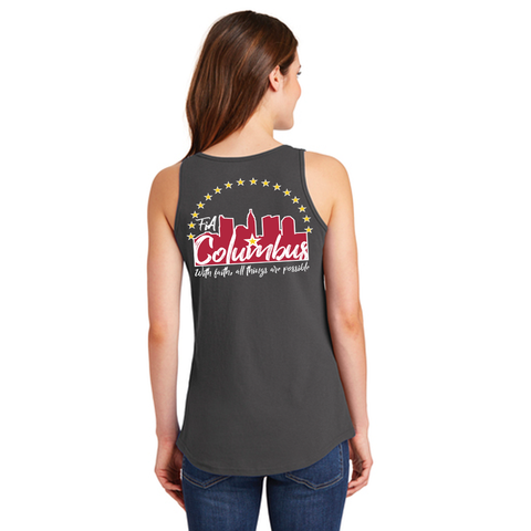 FiA Columbus Ladies Cotton Tank Top Pre-Order