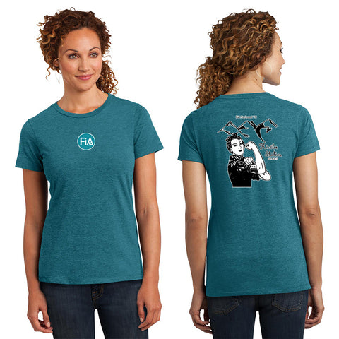 FiA - TN: Johnson City District Made Ladies Perfect Blend Crew Tee Pre-Order