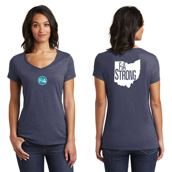 FiA Strong - OH District Women's Very Important Tee V-Neck Pre-Order