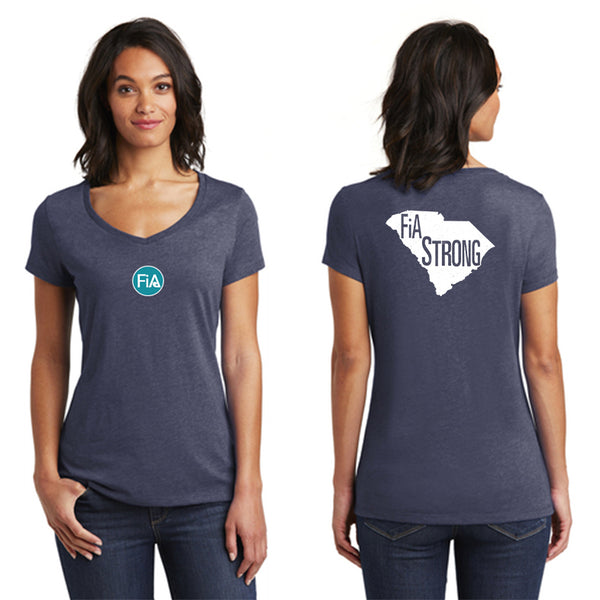 FiA Strong - SC District Women's Very Important Tee V-Neck Pre-Order