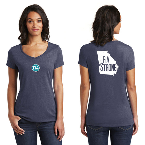 FiA Strong - Georgia District Women's Very Important Tee V-Neck Pre-Order