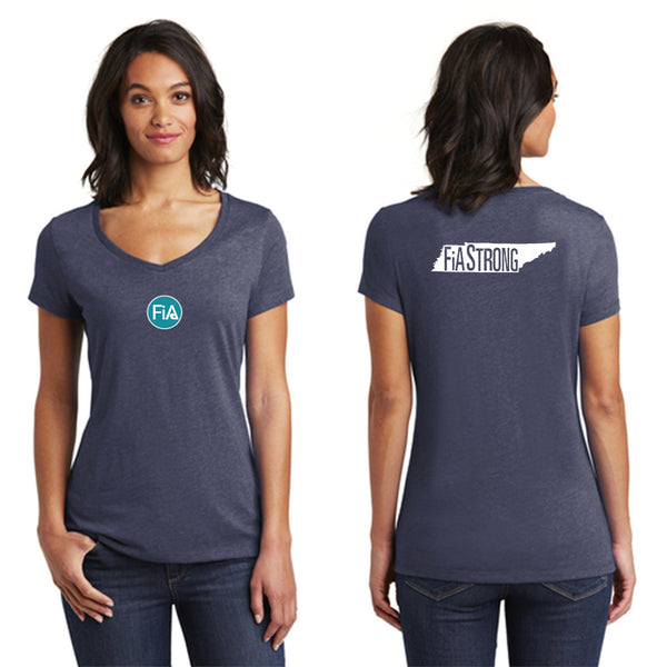 FiA Strong - TN District Women's Very Important Tee V-Neck Pre-Order