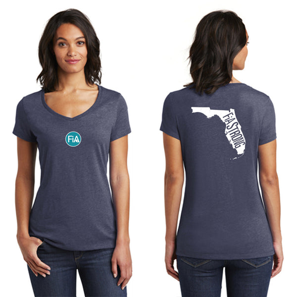 FiA Strong - Florida District Women's Very Important Tee V-Neck Pre-Order