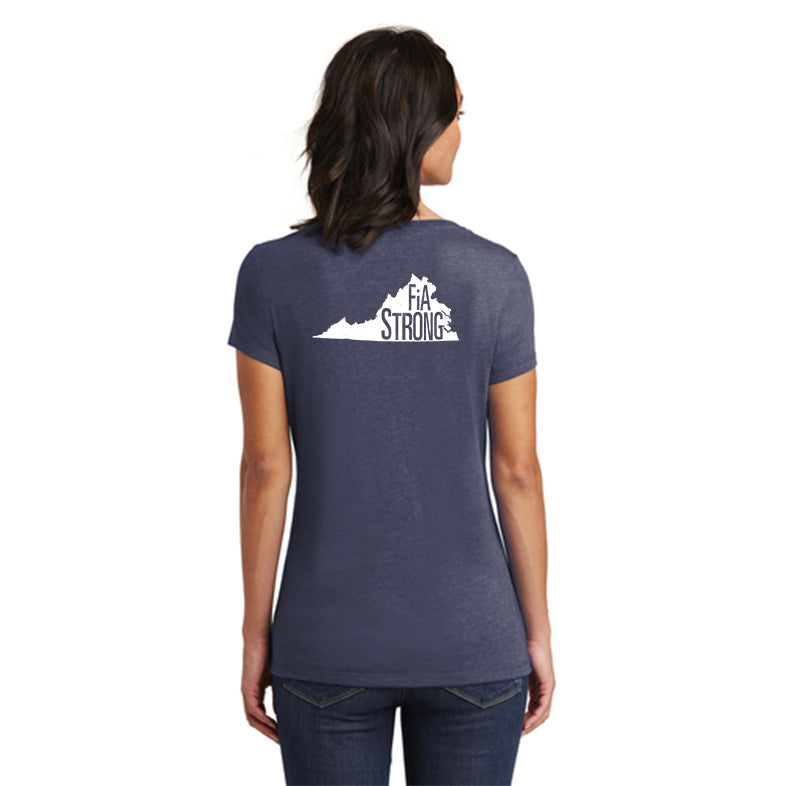 FiA Strong - Virginia District Women's Very Important Tee V-Neck Pre-Order