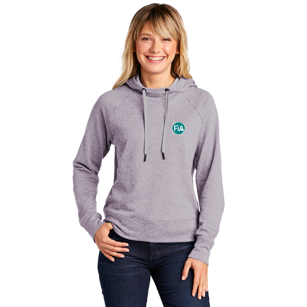 FiA Sport-Tek Ladies Lightweight French Terry Pullover Hoodie - Made to Order