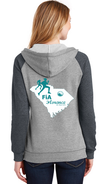 FiA Florence District Women's Lightweight Fleece Raglan Hoodie Pre-Order