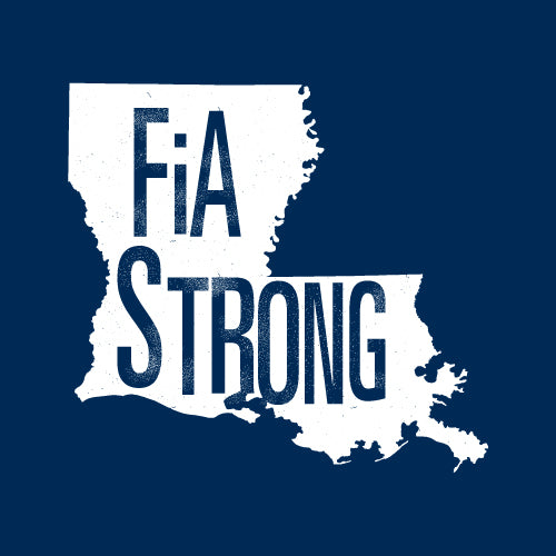 FiA Strong - Louisiana Next Level Ladies Triblend LongSleeve Scoop Tee Pre-Order