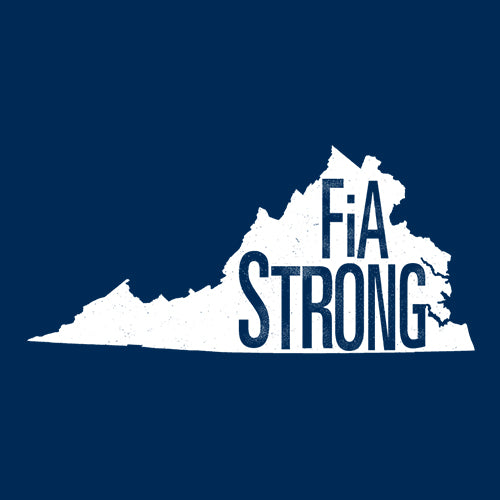 FiA Strong - Virginia District Women's Perfect Tri 3/4-Sleeve Raglan Pre-Order