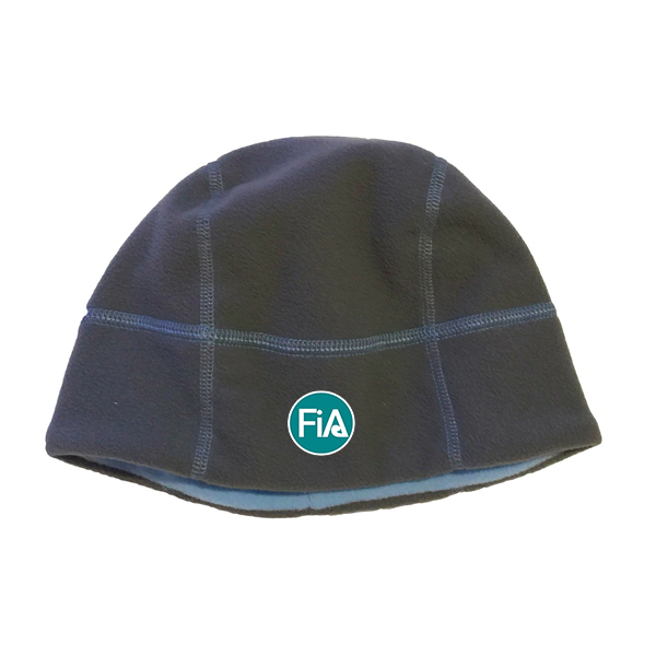 FiA Trailheads Berkshire Beanie (Charcoal/TrueBlue)