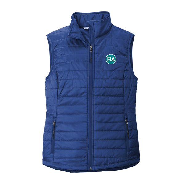 FiA Port Authority Ladies Packable Puffy Vest - Made to Order
