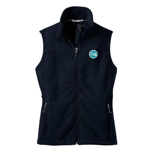 FiA Port Authority Ladies Fleece Vest - Made to Order