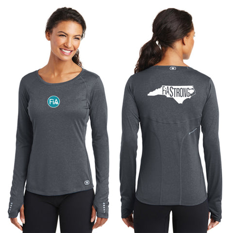 FiA Strong - NC OGIO ENDURANCE Ladies Long Sleeve Pulse Crew Pre-Order