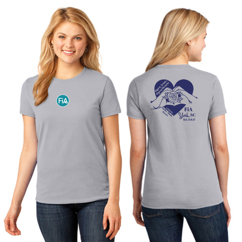 FiA SC York Port & Company Ladies Short Sleeve Cotton Tee Pre-Order