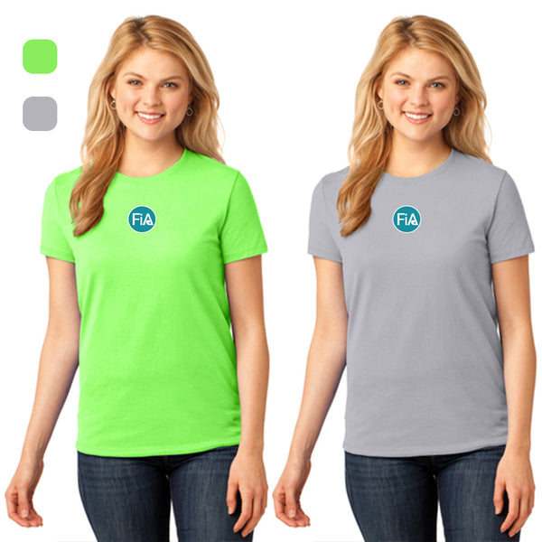 FiA Lake Murray AO Loggerhead - Port & Company Ladies Core Cotton Tee Pre-Order