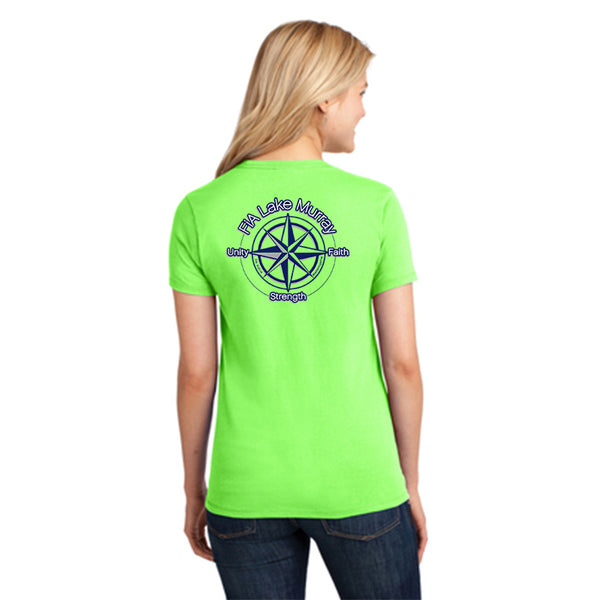 FiA Lake Murray - Port & Company Ladies Core Cotton Tee Pre-Order