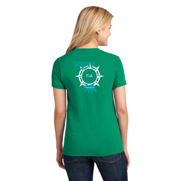 FiA South Charlotte Port & Company Ladies Core Cotton Tee Pre-Order