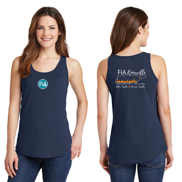 FiA Knoxville Ladies Cotton Tank Top Pre-Order