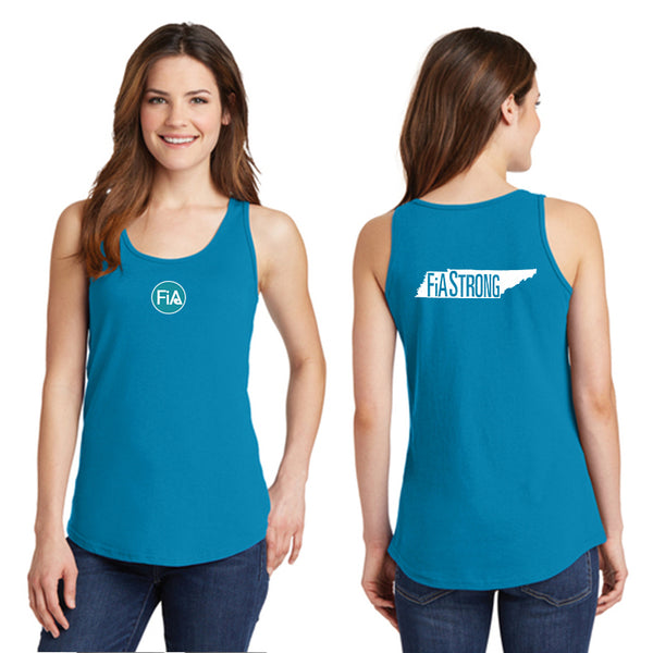 FiA Strong - TN Ladies Cotton Tank Top Pre-Order