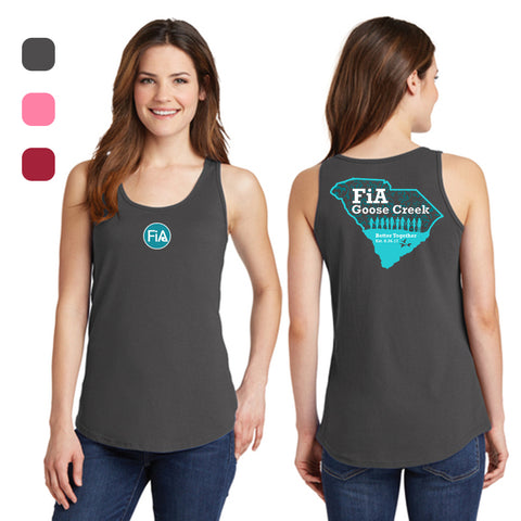 FiA Goose Creek Ladies Cotton Tank Top Pre-Order