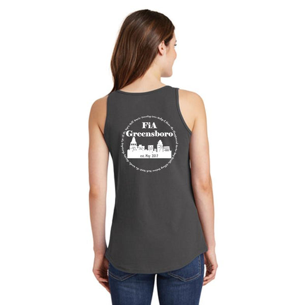 FiA Greensboro Ladies Cotton Tank Top Pre-Order
