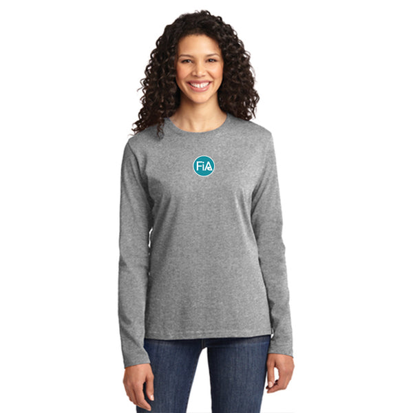 FiA Tennessee Rucking Rosies Port & Company Ladies Long Sleeve Cotton Tee Pre-Order
