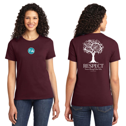 FiA Respect Port & Company Ladies Essential Tee Pre-Order