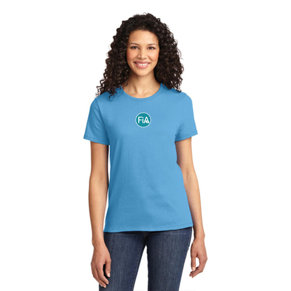 FiA SC York Port & Company Ladies Essential Tee Pre-Order