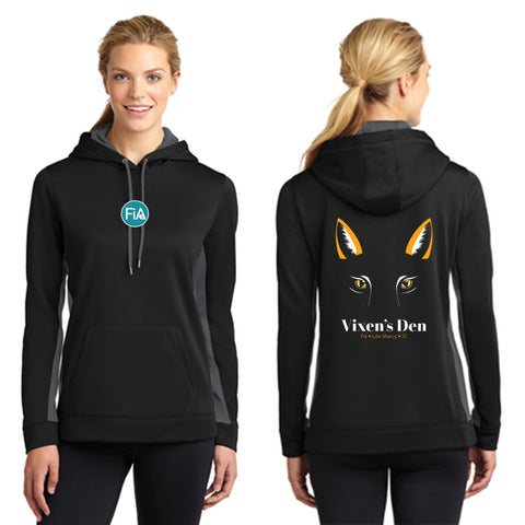 FiA Lake Murray AO Vixen - Sport-Tek Ladies Sport-Wick Fleece Colorblock Hooded Pullover Pre-Order