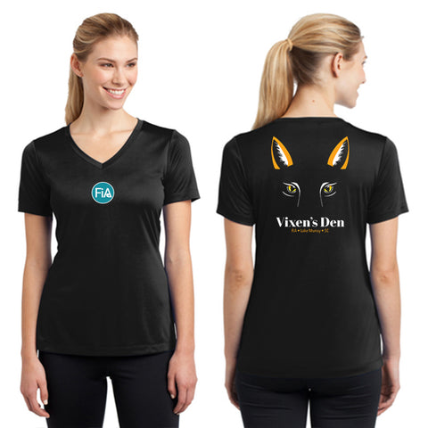 FiA Lake Murray AO Vixen - Sport-Tek Women's Short Sleeve V-Neck Tee Pre-Order