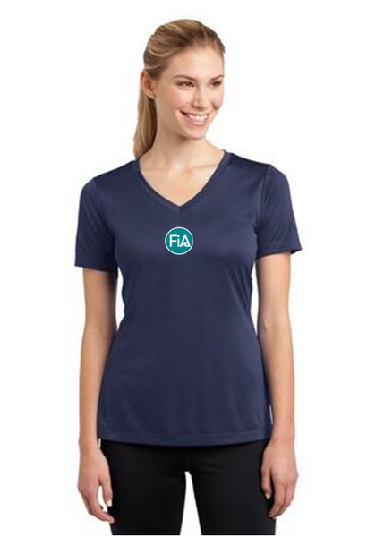 FiA TN - Northeast (Johnson City) Sport-Tek Women's Short Sleeve V-Neck Tee Pre-Order