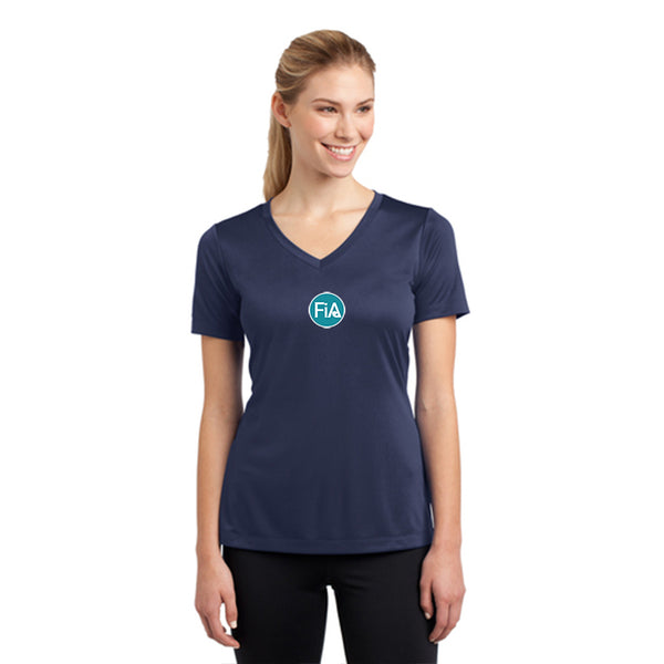 FiA Knoxville Sport-Tek Women's Short Sleeve V-Neck Tee Pre-Order