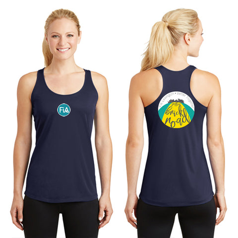 FiA Lexington Yellow Brick Road Sport-Tek Ladies PosiCharge Competitor Racerback Tank Pre-Order