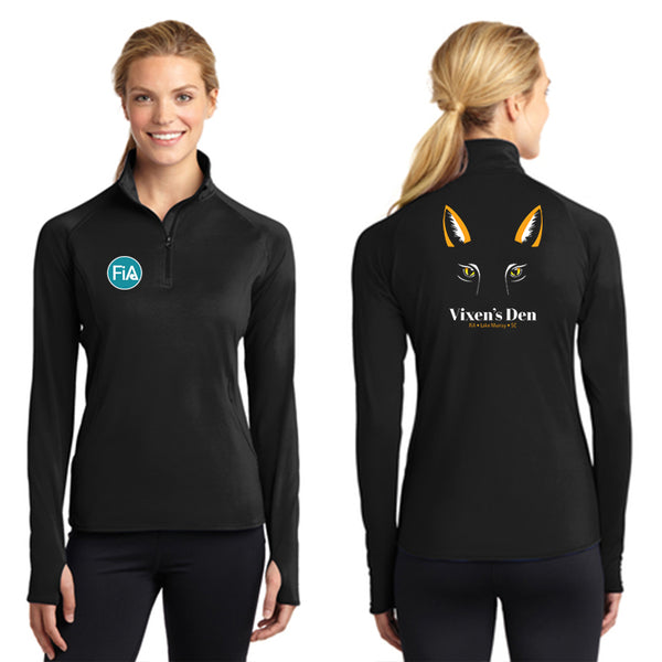 FiA Lake Murray AO Vixen - Sport-Tek Ladies Sport-Wick Stretch 1/2-Zip Pullover Pre-Order