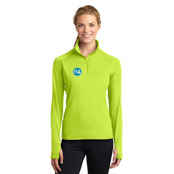 FiA Lake Murray AO Loggerhead - Sport-Tek Ladies Sport-Wick Stretch 1/2-Zip Pullover Pre-Order