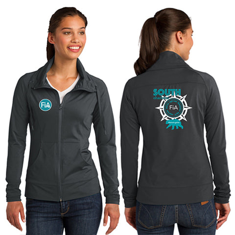 FiA South Charlotte Sport-Tek Ladies Sport-Wick Stretch Full-Zip Jacket Pre-Order