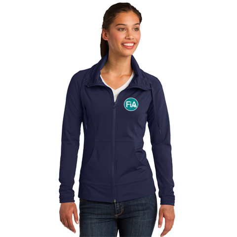 FiA Sport-Tek Ladies Sport-Wick Stretch Full-Zip Jacket - Made to Order