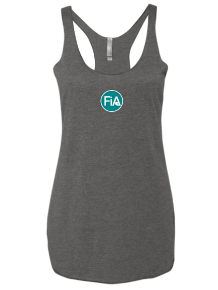 FiA Lexington Next Level Women's Racerback Tank Pre-Order