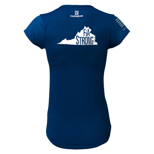 FiA Strong - Virginia MudGear Women's Performance Short Sleeve Pre-Order