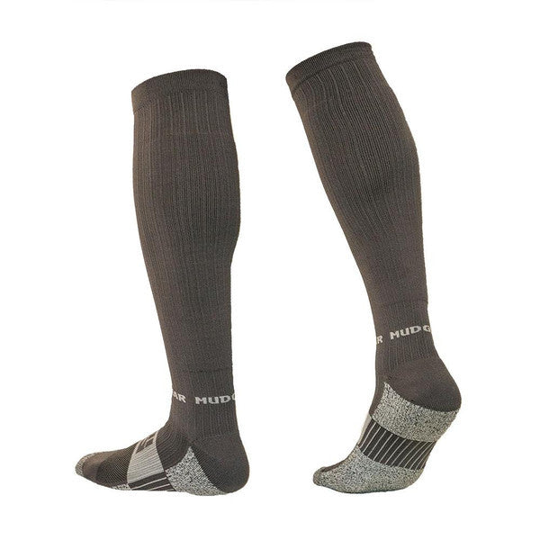 MudGear Compression Obstacle Race Socks (Gray/Gray)