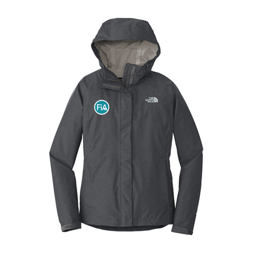 FiA The North Face Ladies DryVent Rain Jacket - Made to Order